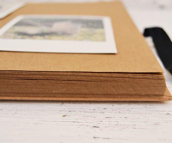 Dettaglio album fotografico