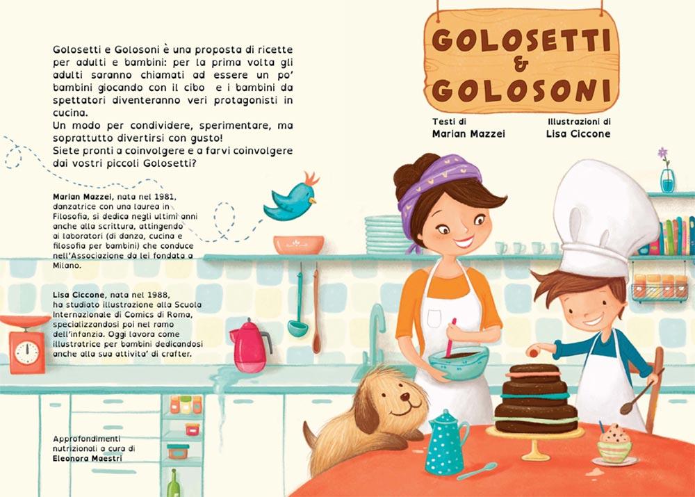copertina libro illustrato Golosetti e golosoni