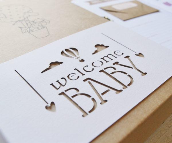 Dettaglio fascia Box Welcome baby