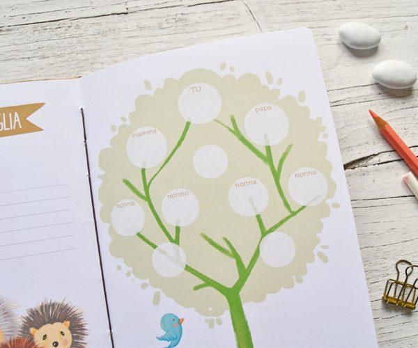 Illustrazione interna Diario del bebè