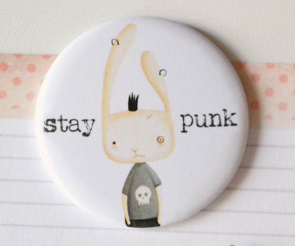 Calamita illustrata Stay punk