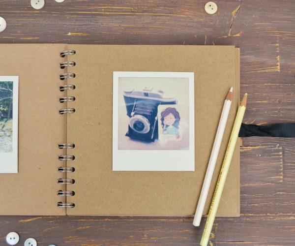 Interno Album fotografico piccolo