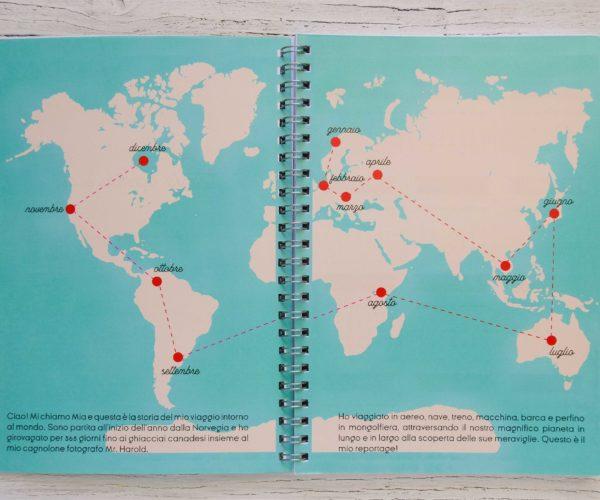 Itinerario around the world agenda 2020