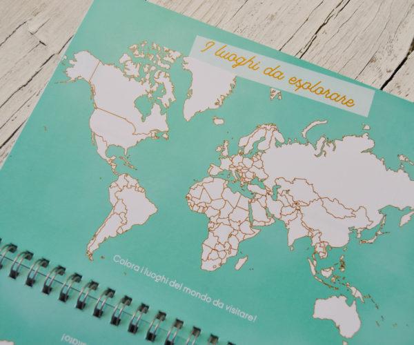 Planisfero agenda Around the world 2020