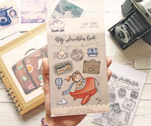 timbri di viaggio - My adventure book
