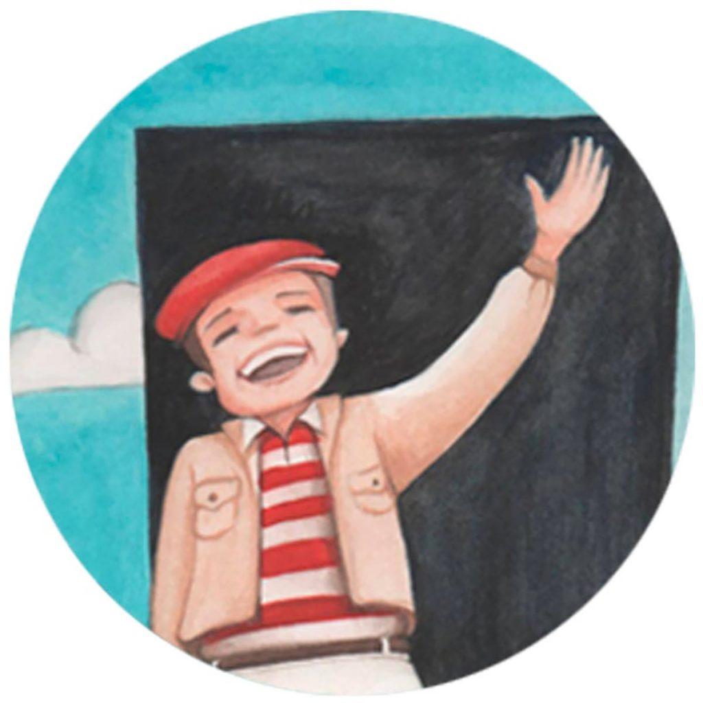 Dettaglio Stampa illustrata Truman show