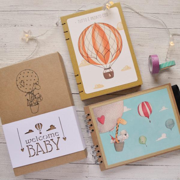 box Welcome baby prodotti