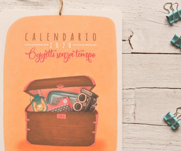 Copertina Calendario 2020 Oggetti