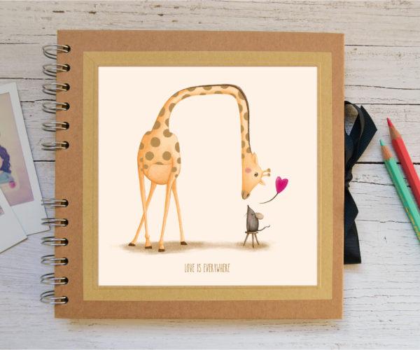 Album piccolo Giraffa