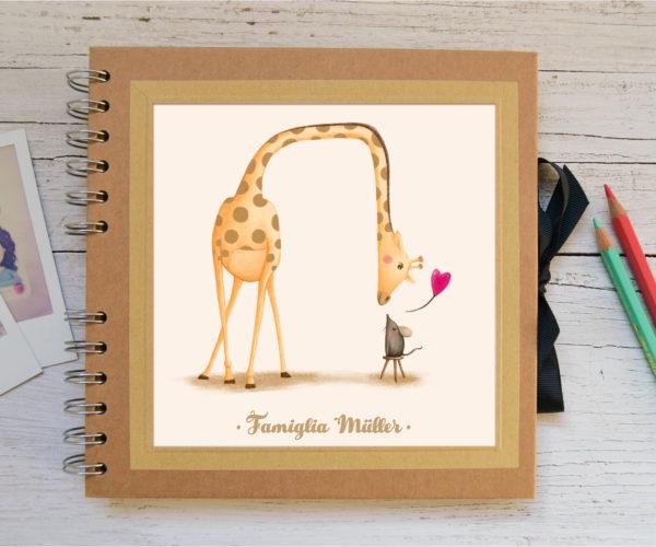 Album piccolo Giraffa - personalizzato