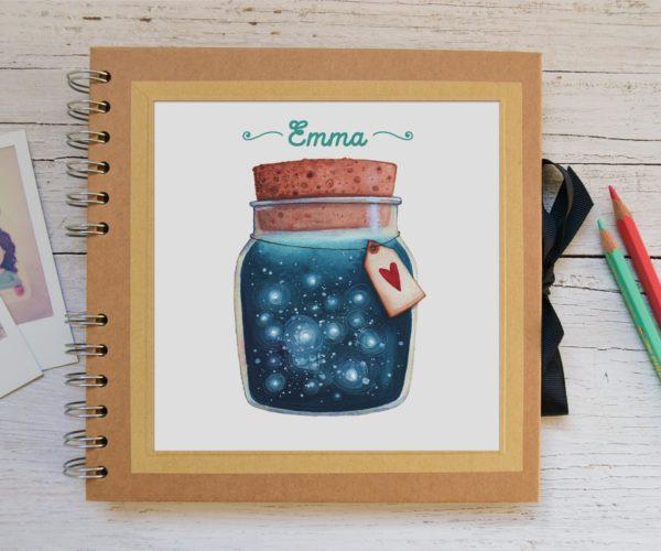 Album piccolo Barattolo - personalizzato