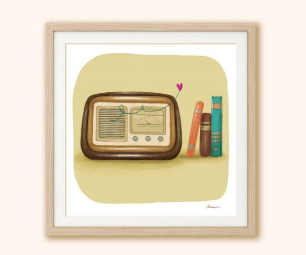 Stampa Radio in cornice