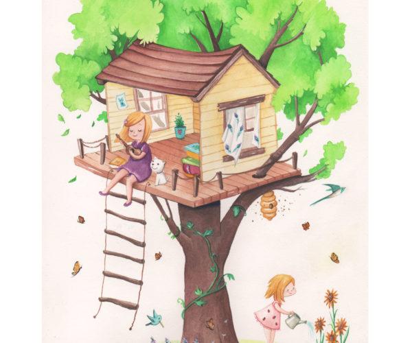 Stampa Casa sull'albero