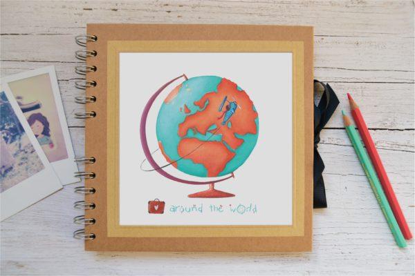Album piccolo Around the world