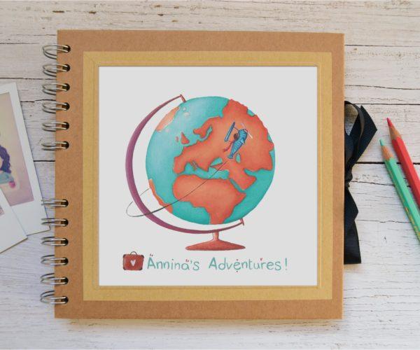 Album piccolo Around the world - personalizzato