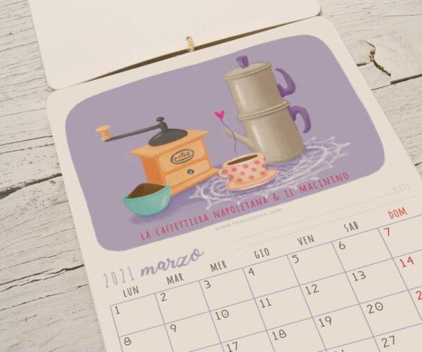 Calendario 2021 Oggetti senza tempo