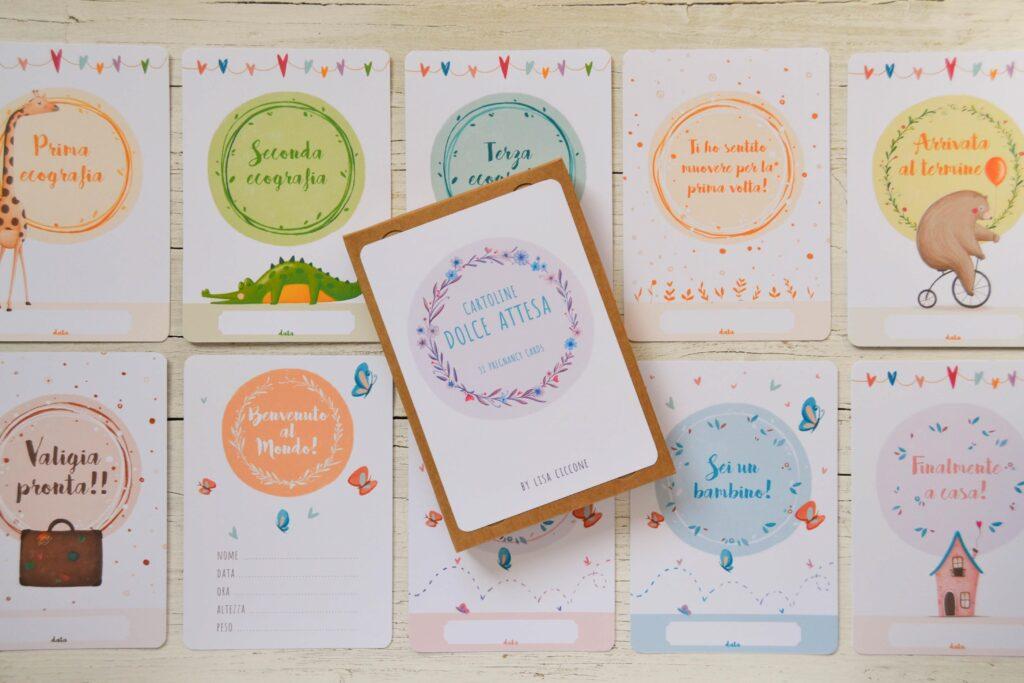 set card gravidanza