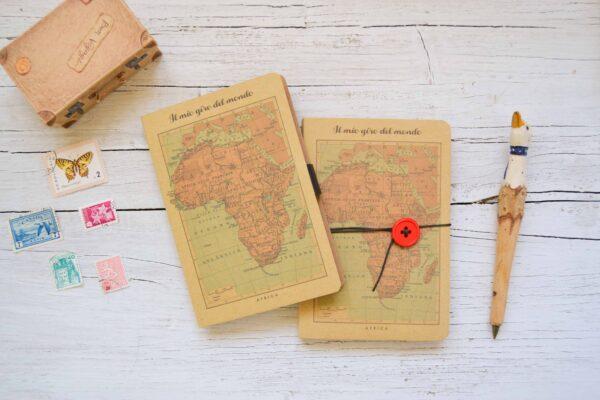 Taccuino di viaggio Africa