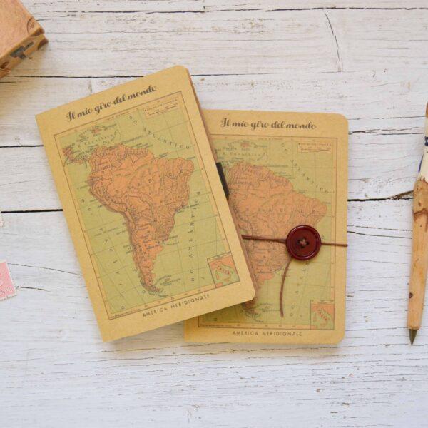 Taccuino di viaggio Sud America