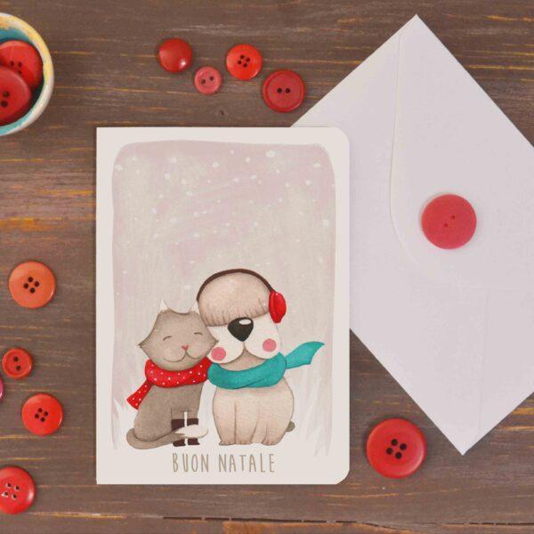 card Buon Natale