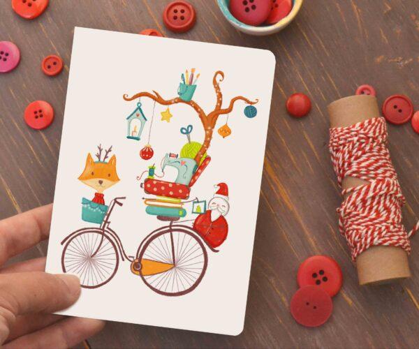 card Doni di Natale