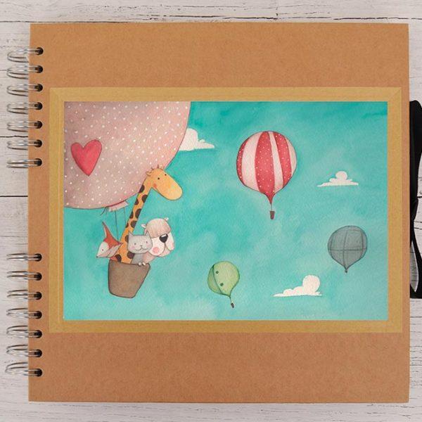 Photo album Hot air balloons