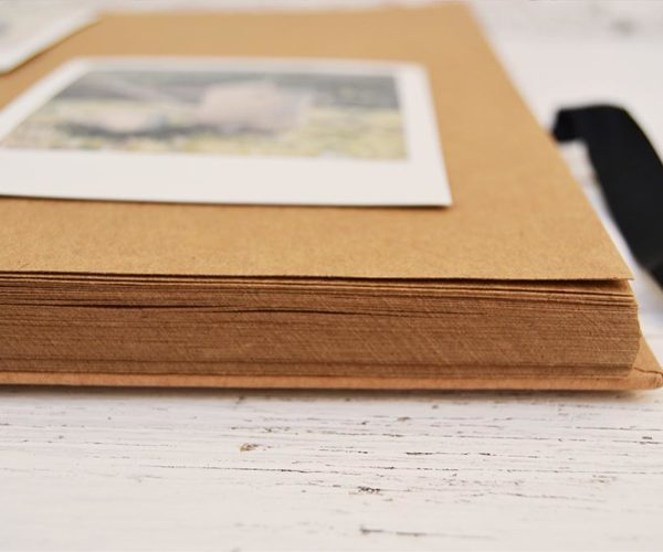 Kraft photo album - Details