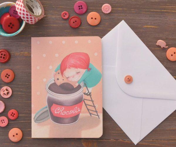 Greeting card Chocolate