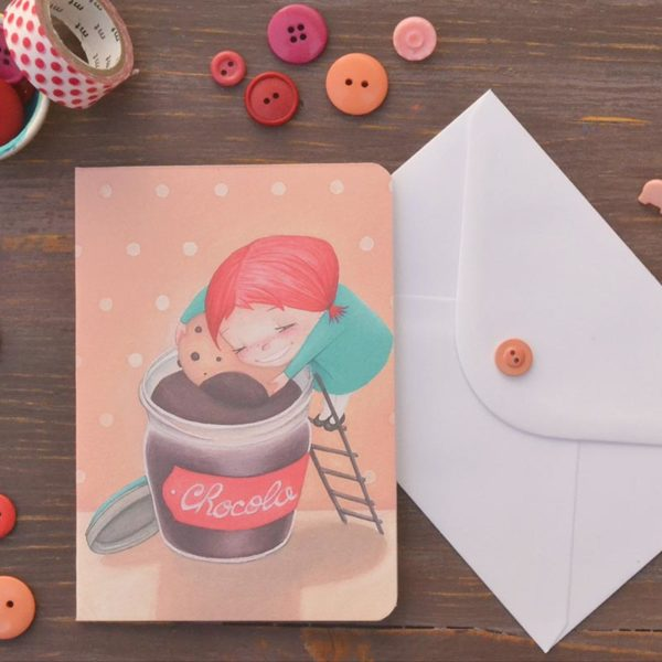 Greeting card Chocolate
