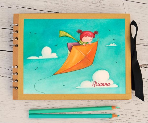 Customized Photo album A5 Kite