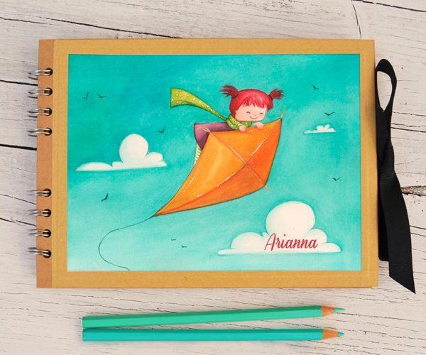 Customized Photo album A5 Kite