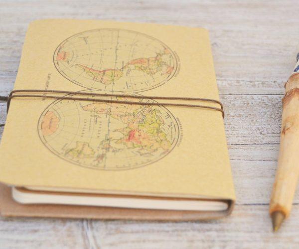 Travel diary - back