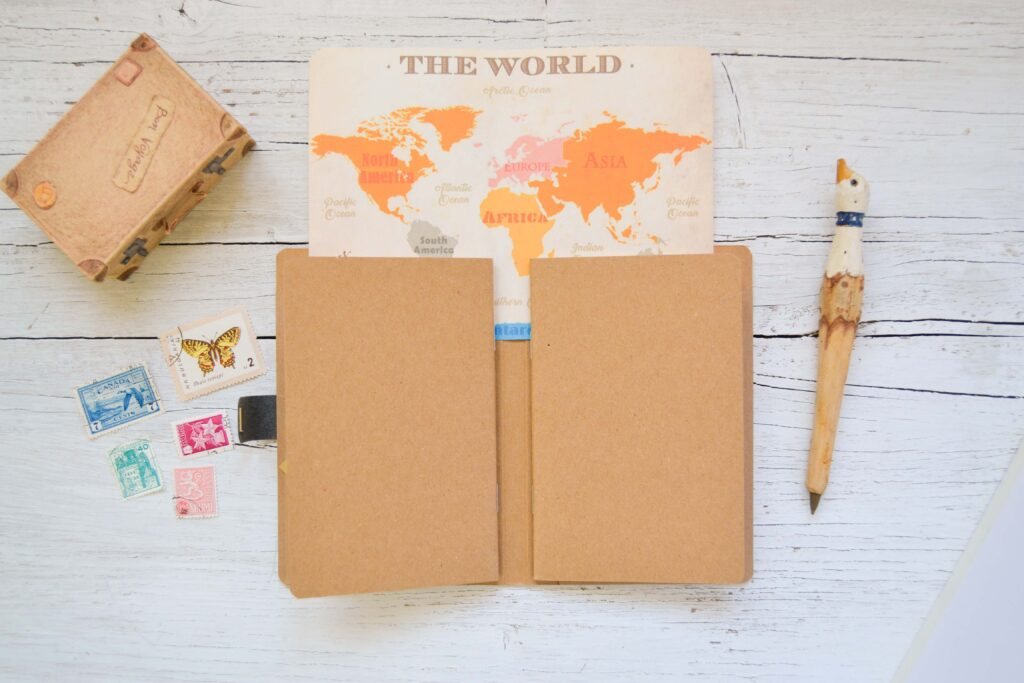 Travel Diary - Inside