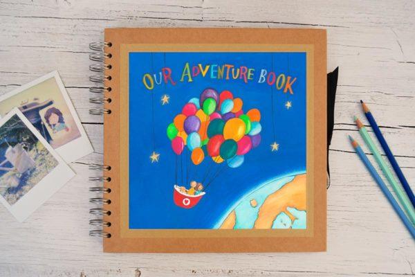 Photo album Our adventure book