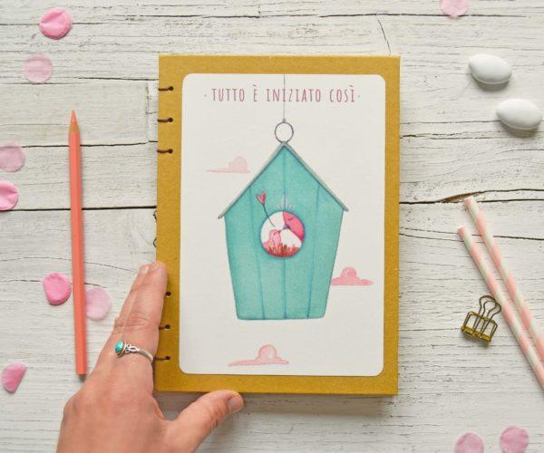 Baby diary Nest, pregnancy journal