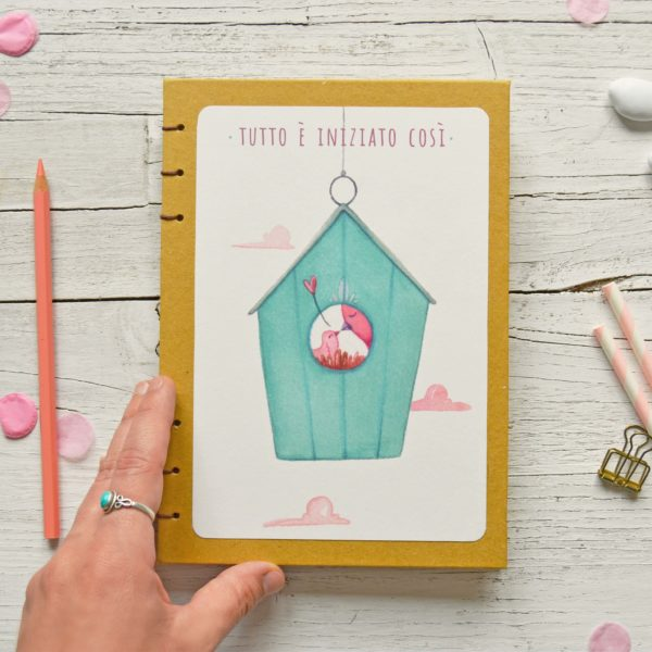 Baby diary Nest, pregnancy journal