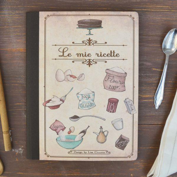 Kraft notebook Le mie ricette