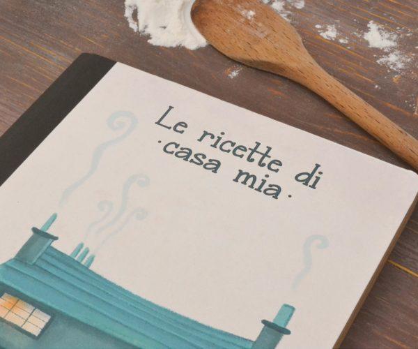 Kraft notebook Le ricette di casa mia - details