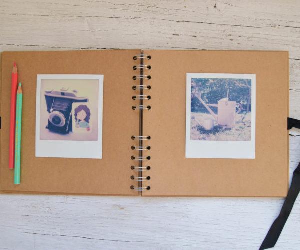 Small photo album - Inside