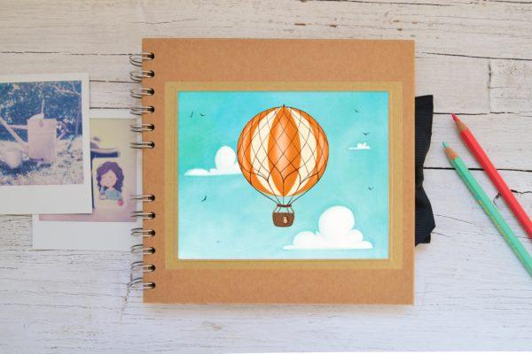 Small Photo album Hot air balloon
