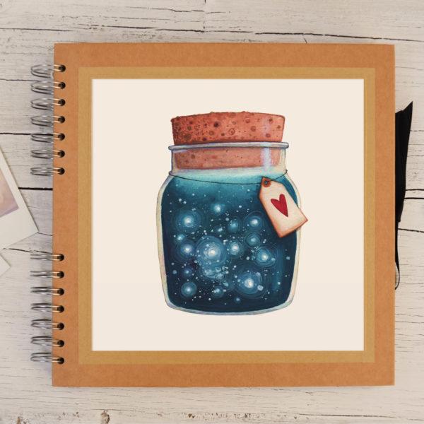 Photo album Dreams jar