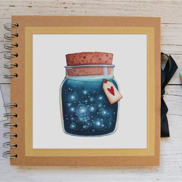 Small Photo album Dreams jar