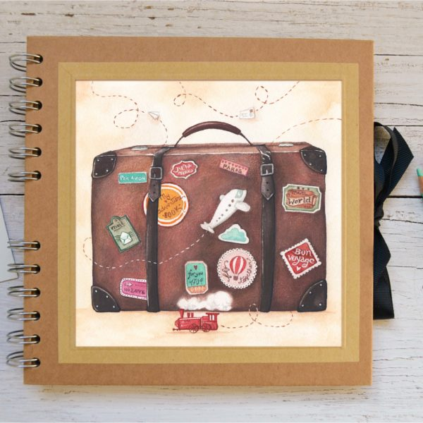 Small Photo album Suitcase