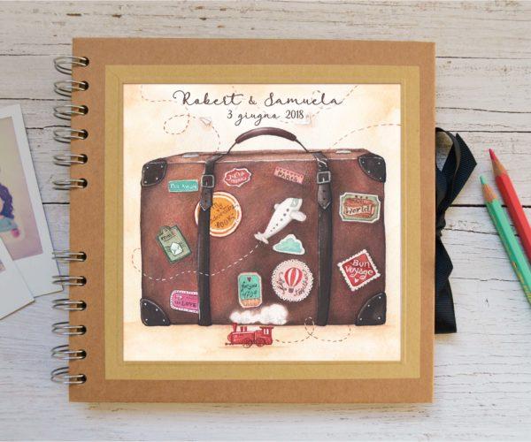 suitcase album custom