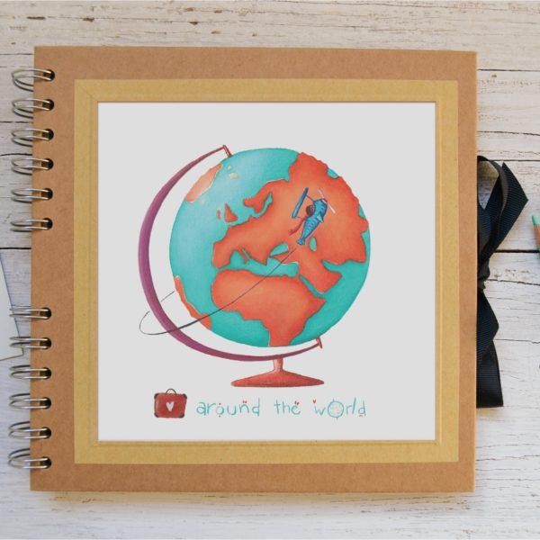Small Photo album Around the world