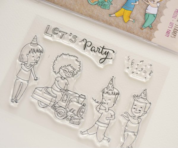 Clear stamps set Birthday Boy