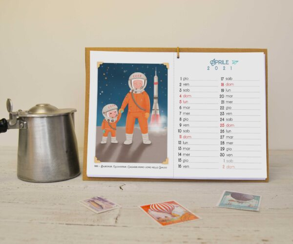Calendar Time travel