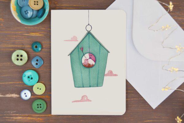 Greeting card Nest