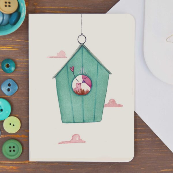 Greeting card Nest