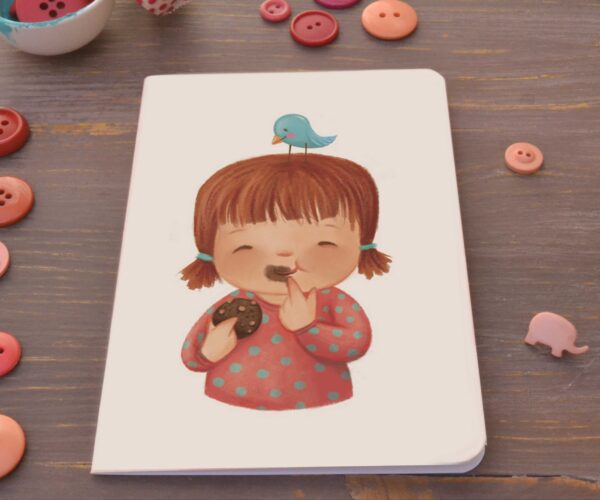 Greeting card Sweet moments